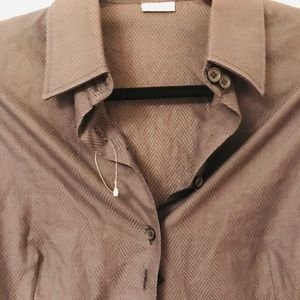 STELLA McCartney Unisex Black Dress Shirt 44/M NEW